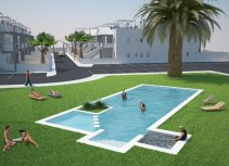 Urbanisation in Orihuela Costa with community areas and pool