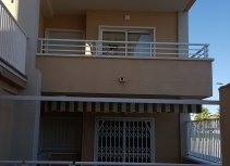 Apartments with a garage and only 50 meters from the beach.