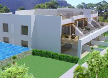 Maisonettes with a modern design and highest of qualities